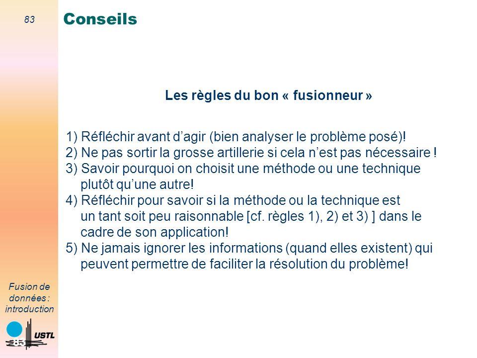 Conseils Les règles du bon « fusionneur »