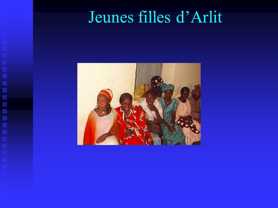 Jeunes filles d'Arlit