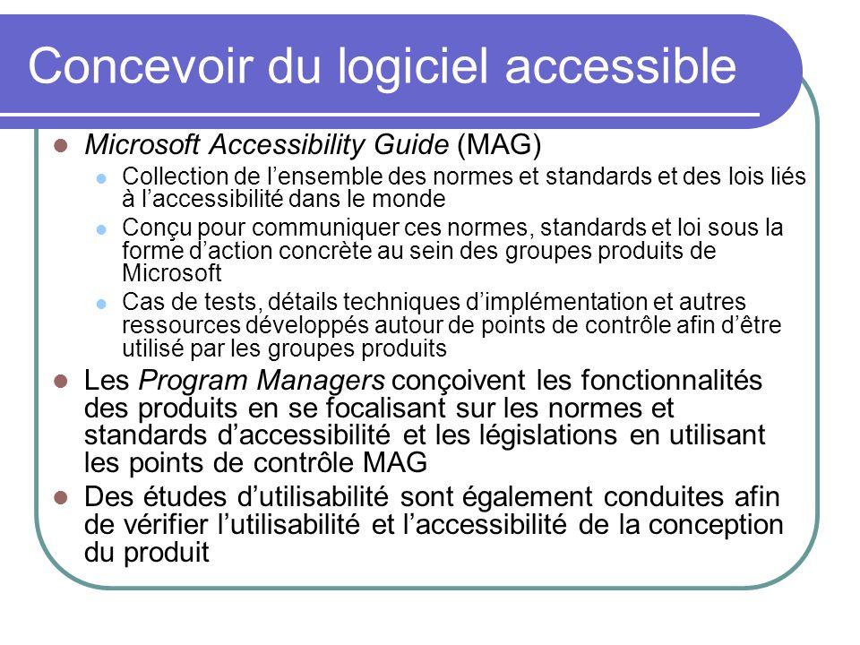 Concevoir du logiciel accessible