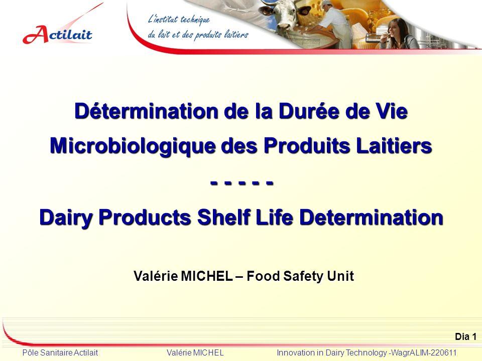 D termination de la dur e de vie microbiologique des for Duree de vie d un cumulus