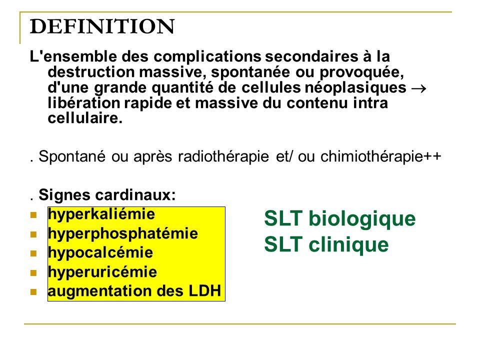 DEFINITION SLT biologique SLT clinique