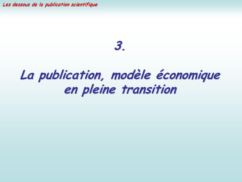 La publication, modèle économique