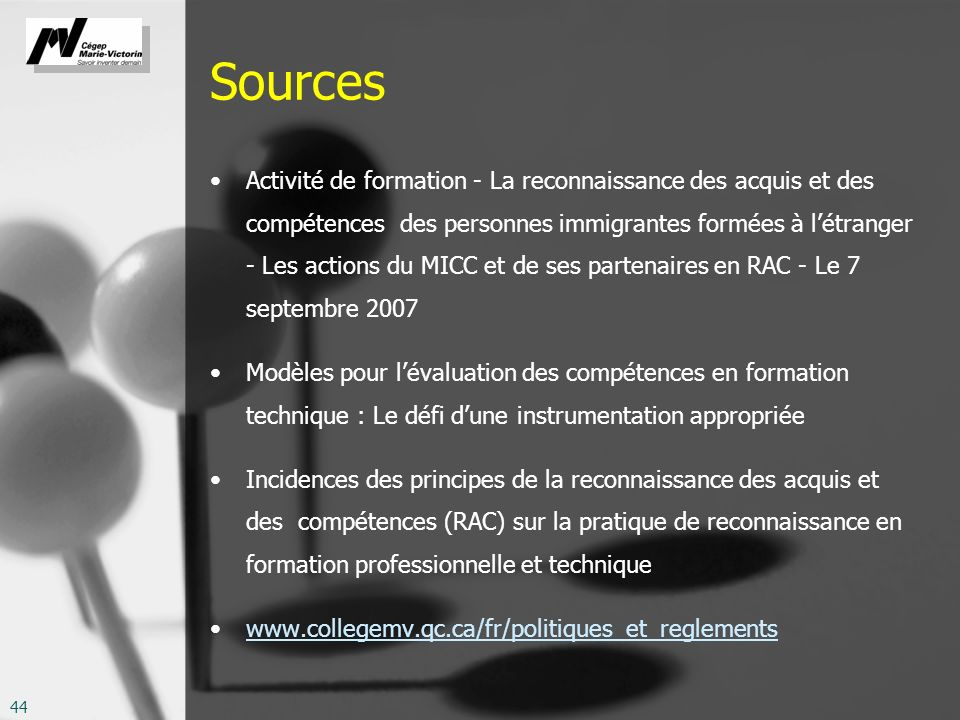 Sources