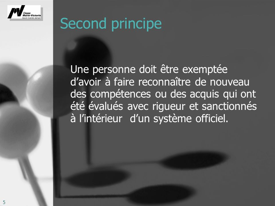 Second principe
