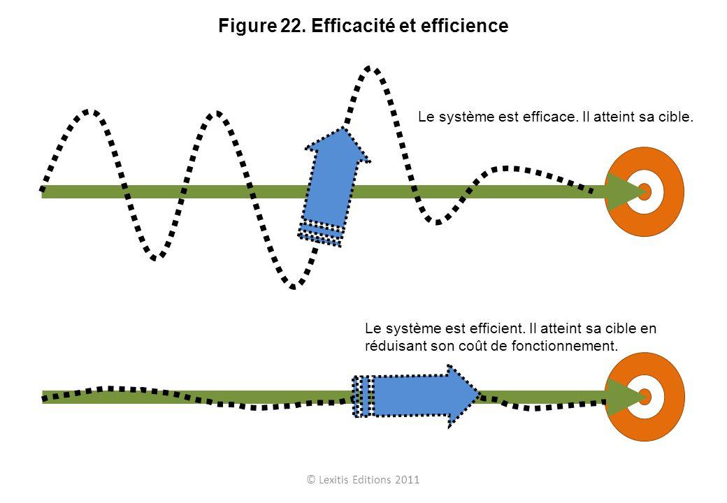 Figure 22. Efficacité et efficience