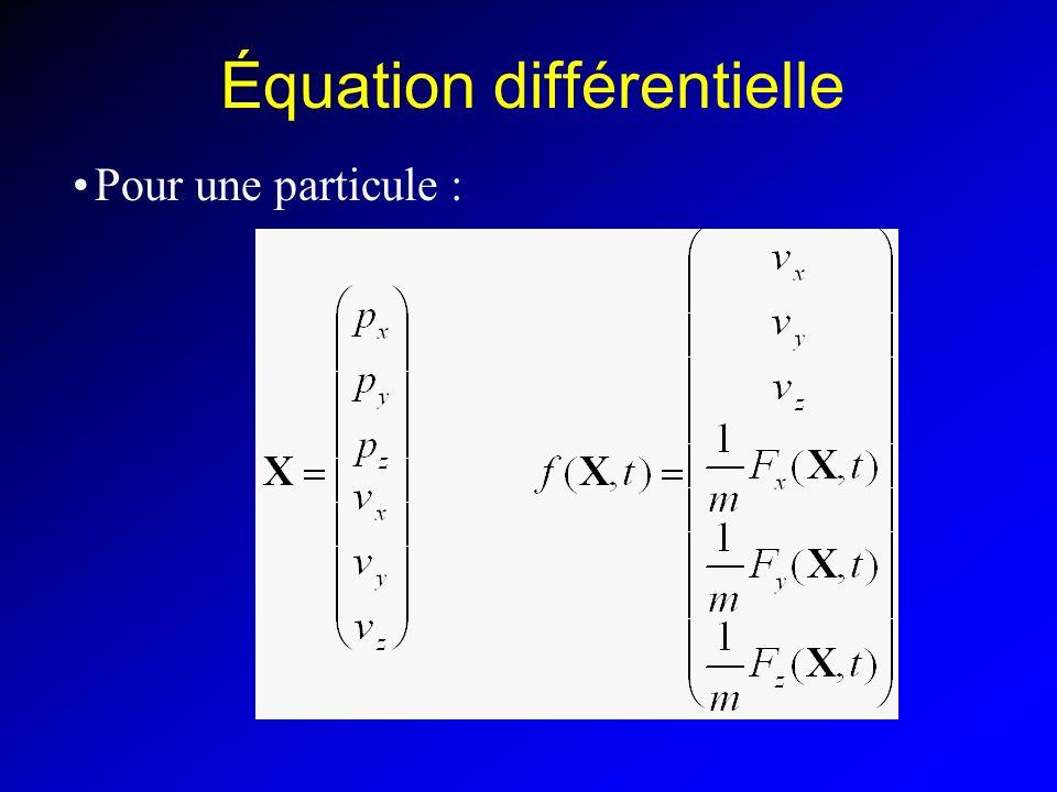 Équation différentielle