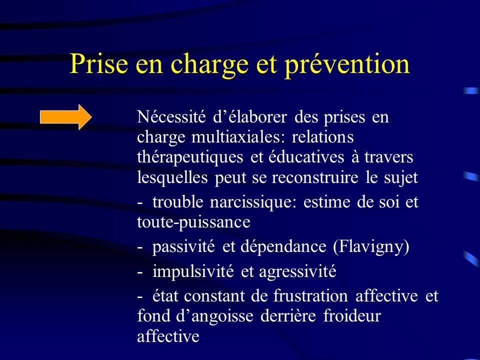 Prise en charge et prévention