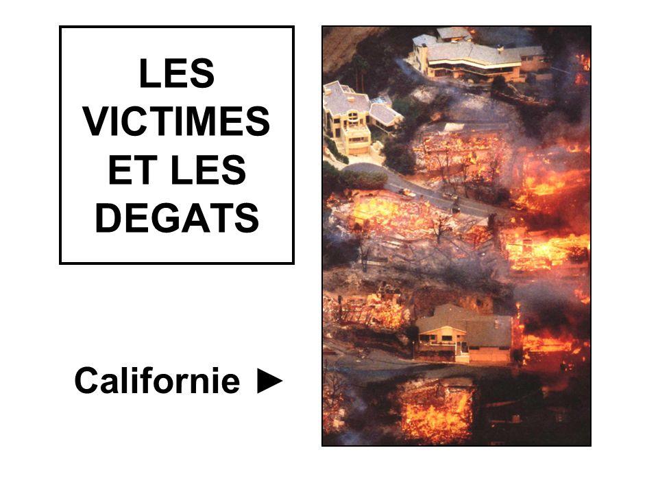 LES VICTIMES ET LES DEGATS