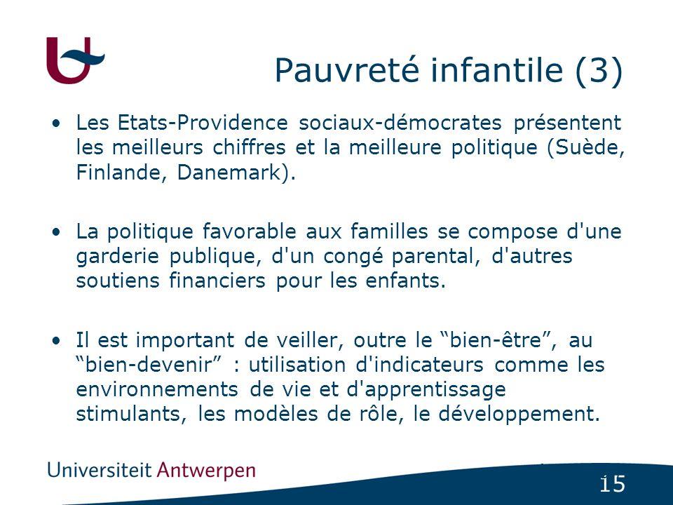 Pauvreté infantile (3)