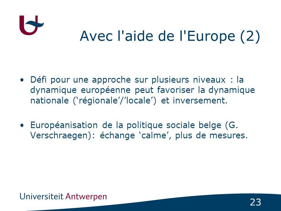 Avec l aide de l Europe (2)