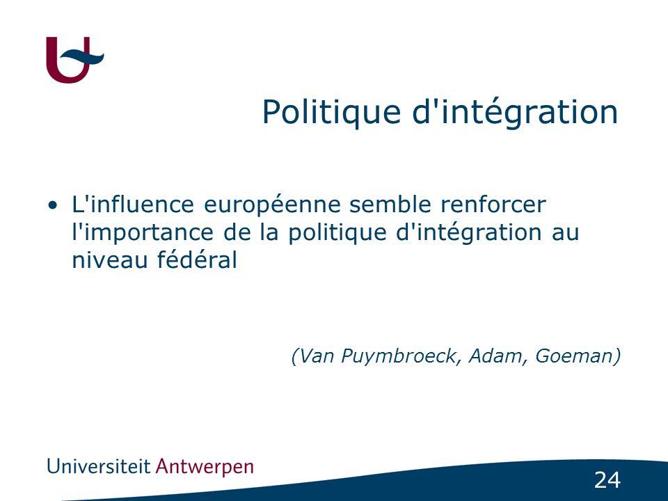 Politique d intégration