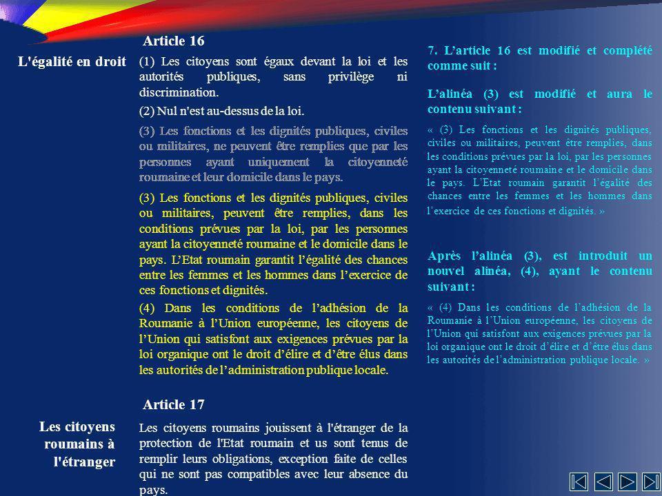 Les citoyens roumains à l étranger