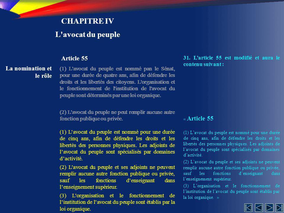 CHAPITRE IV L avocat du peuple