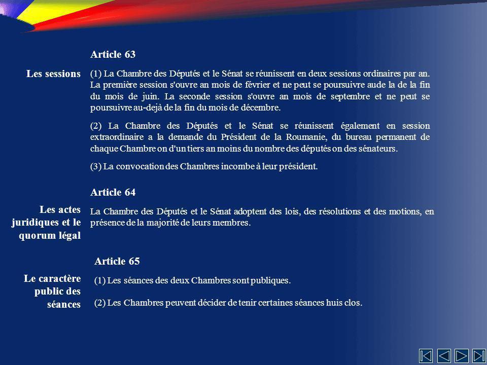 Les actes juridiques et le quorum légal