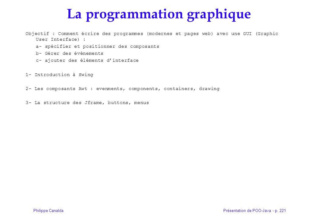 La programmation graphique