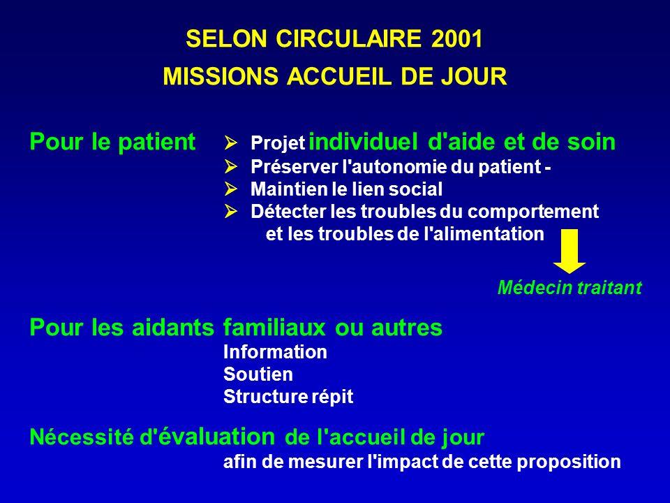 MISSIONS ACCUEIL DE JOUR