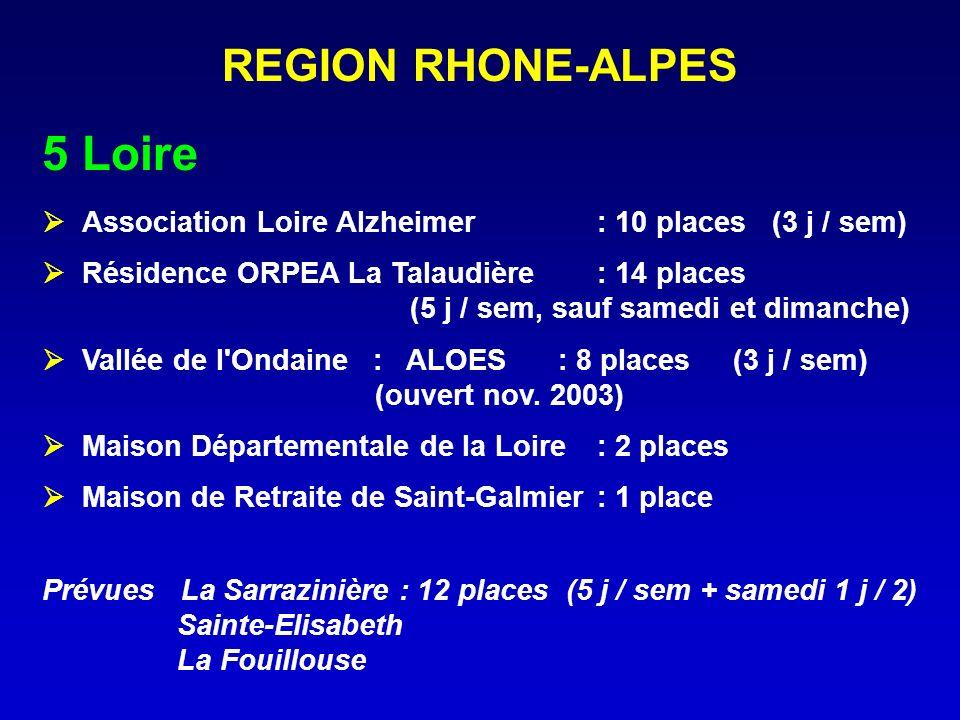 5 Loire REGION RHONE-ALPES