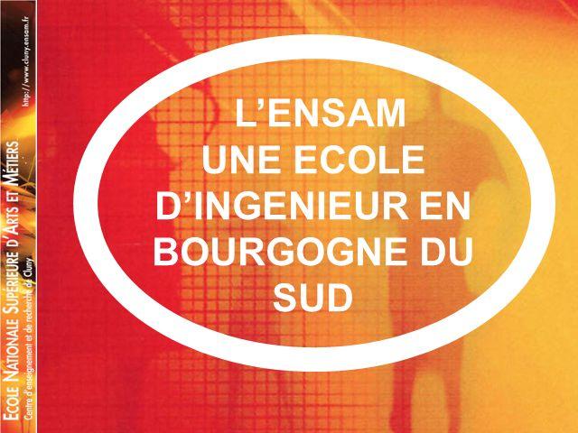 UNE ECOLE D'INGENIEUR EN BOURGOGNE DU SUD