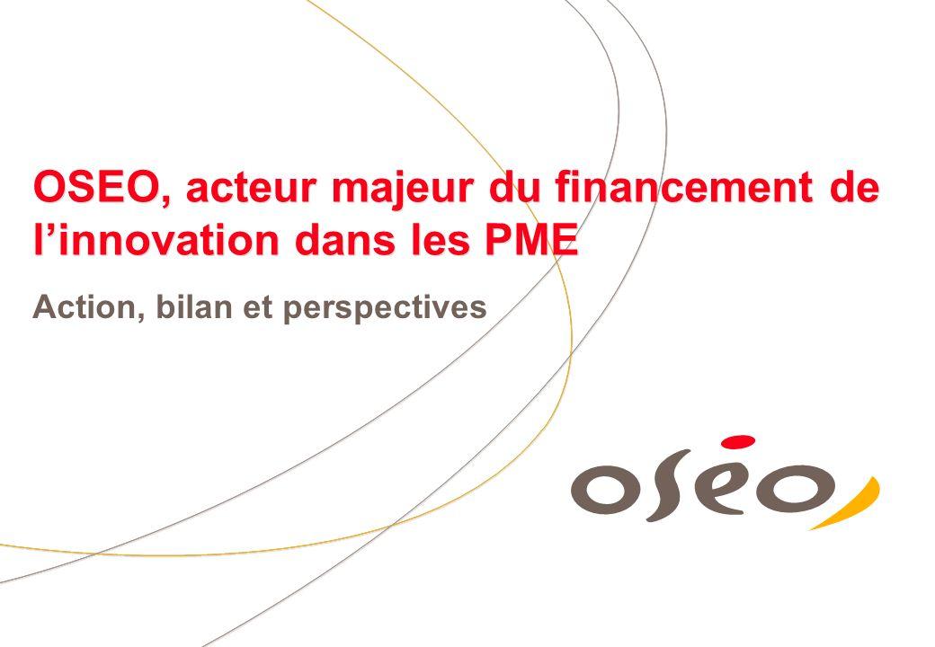 OSEO, acteur majeur du financement de l'innovation dans les PME