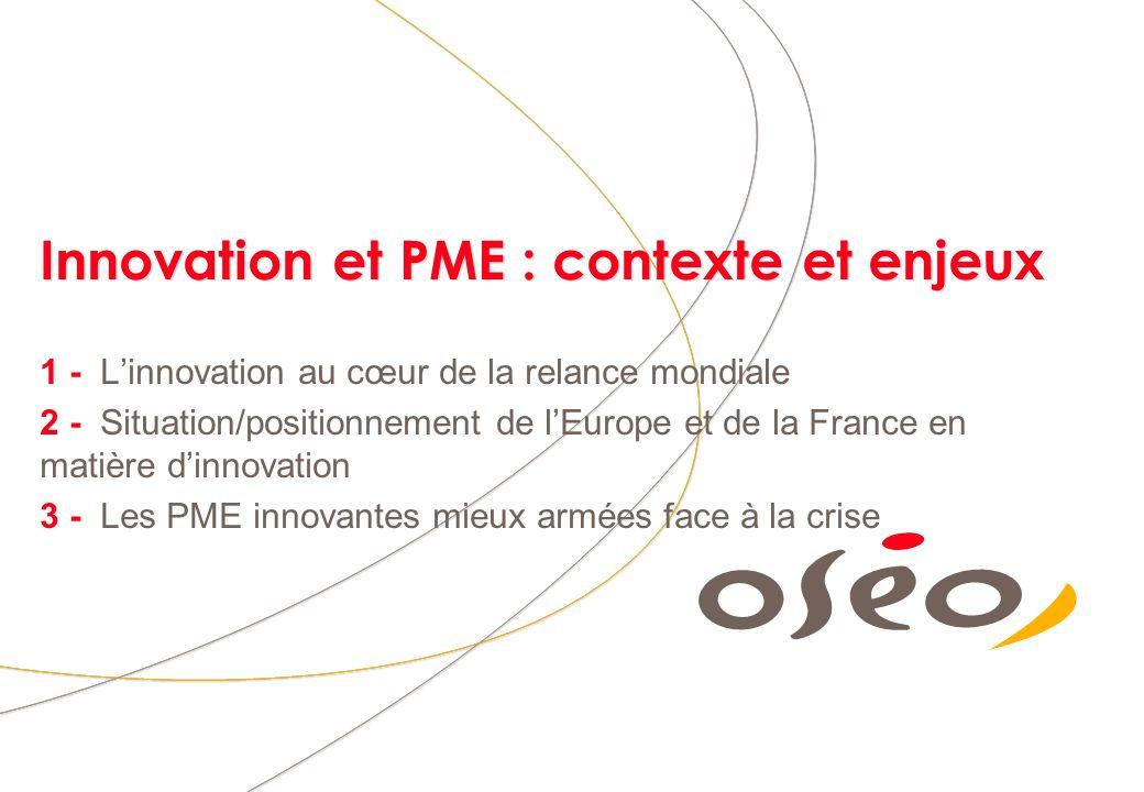 Innovation et PME : contexte et enjeux