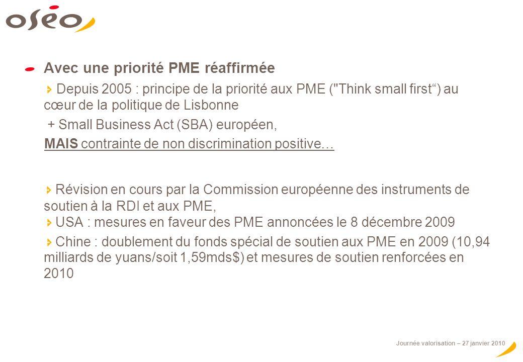 Avec une priorité PME réaffirmée