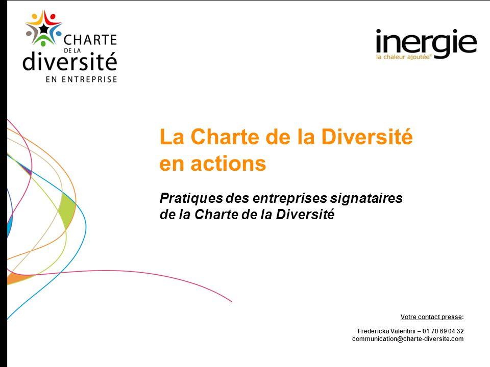 La Charte de la Diversité en actions