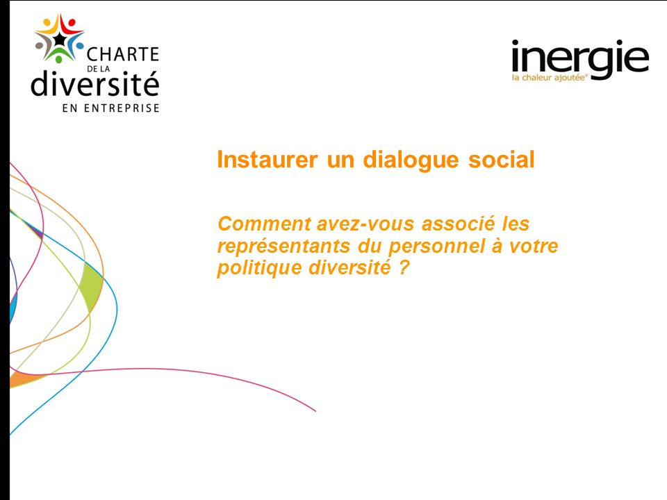 Instaurer un dialogue social