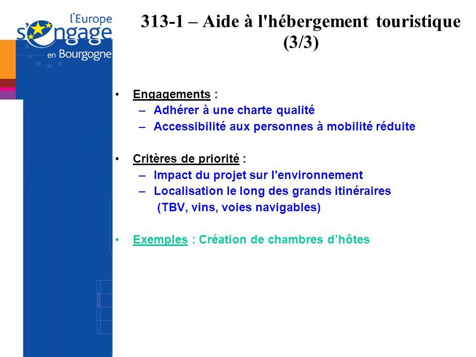 313-1 – Aide à l hébergement touristique (3/3)