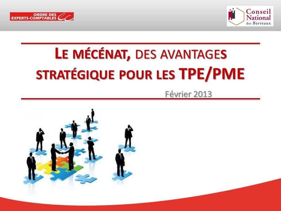 Le mécénat, des avantages stratégique pour les TPE/PME
