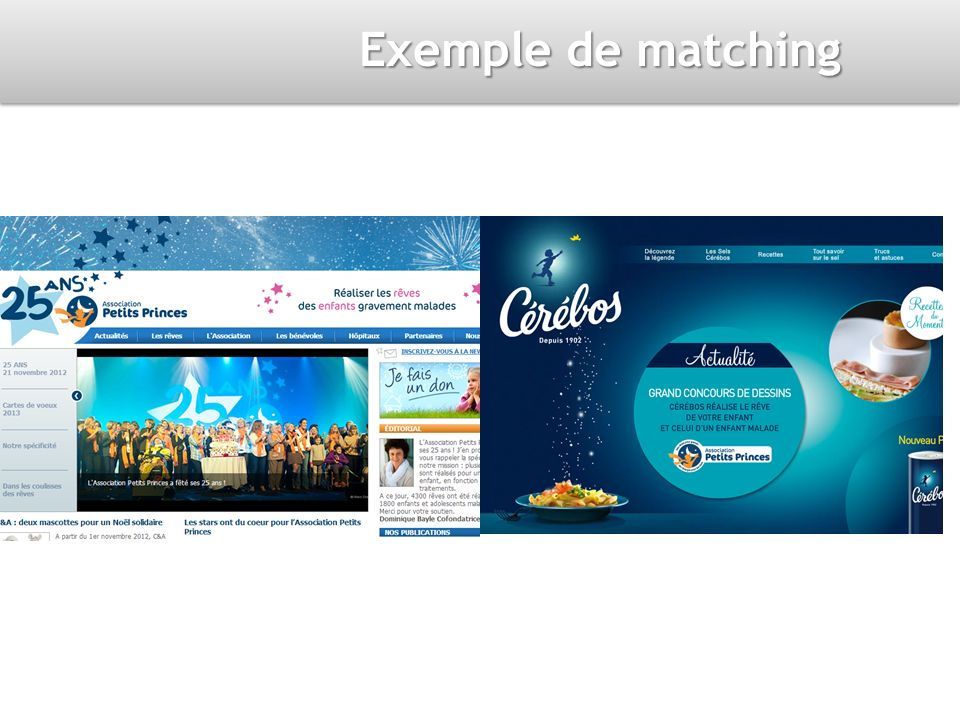 Exemple de matching