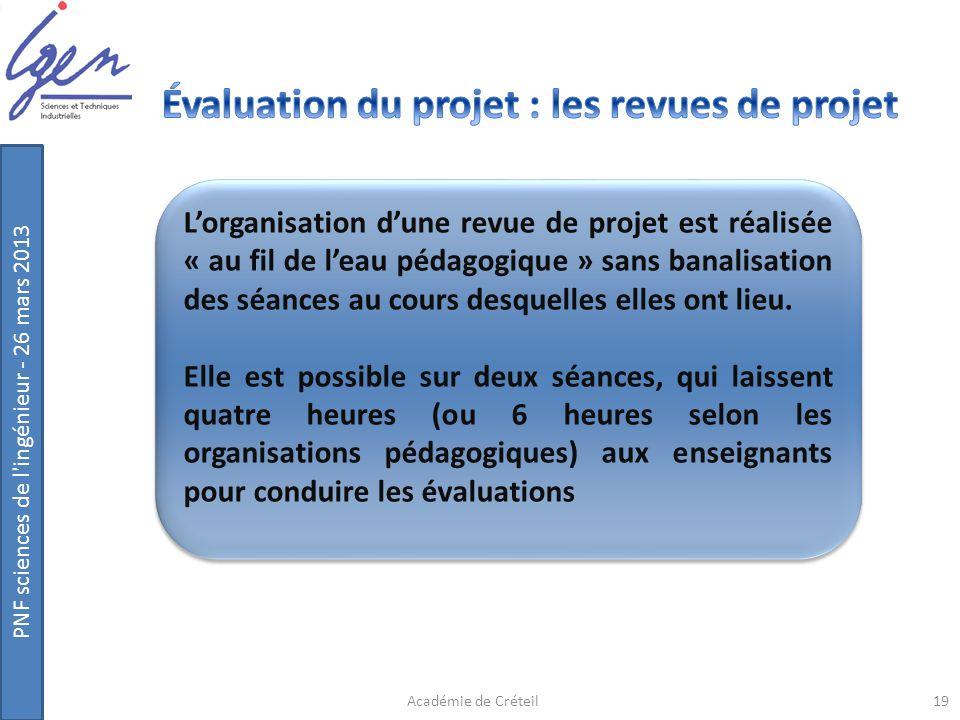 Évaluation du projet : les revues de projet