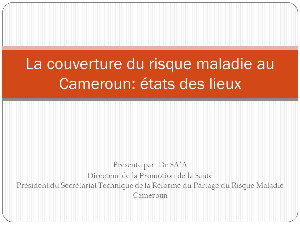 La couverture du risque maladie au Cameroun: états des lieux