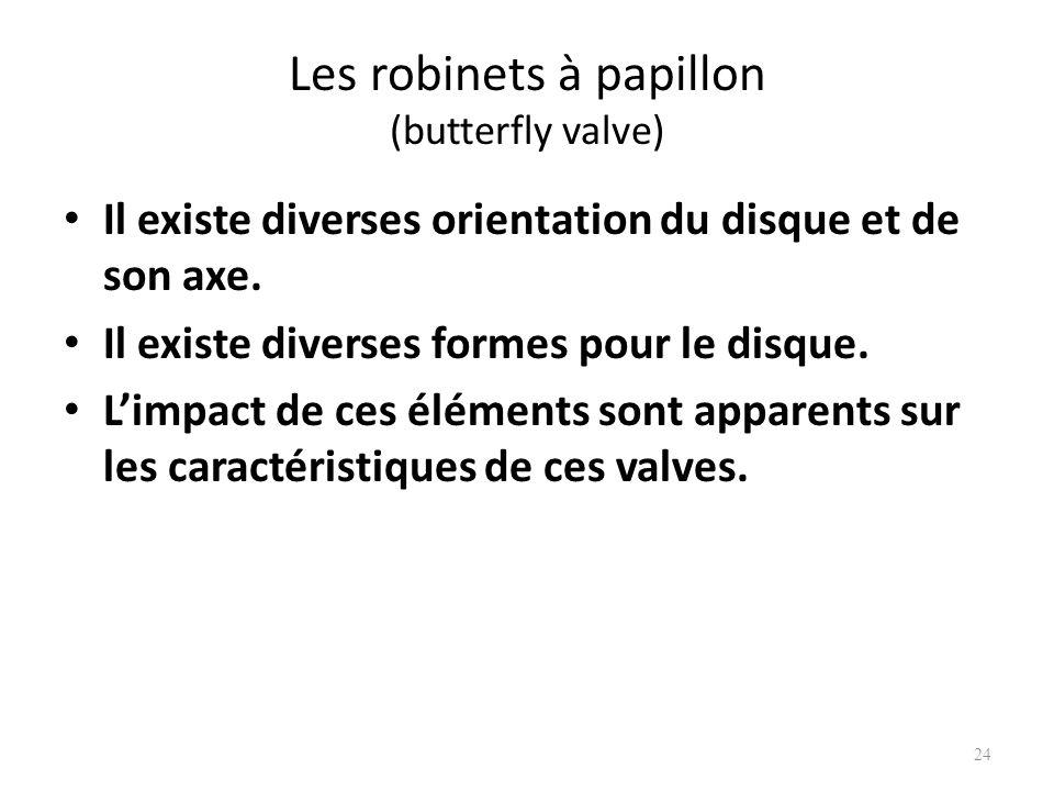 Les robinets à papillon (butterfly valve)