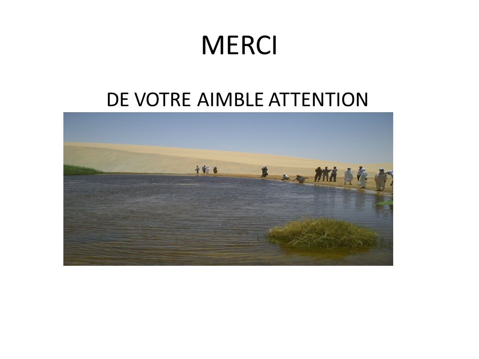 MERCI DE VOTRE AIMBLE ATTENTION