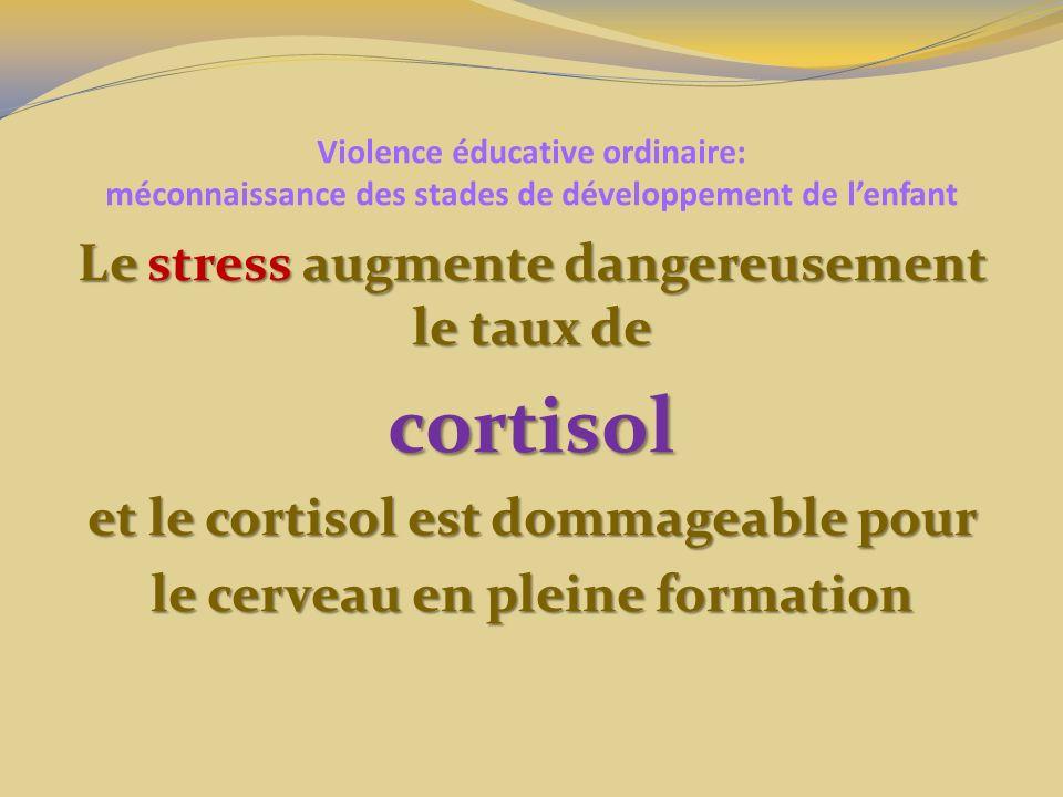 cortisol Le stress augmente dangereusement le taux de