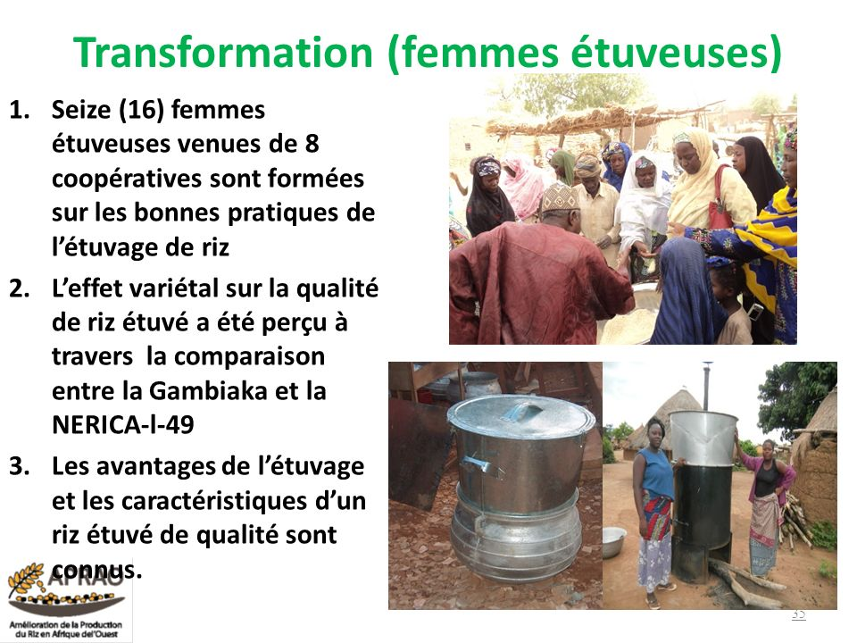 Transformation (femmes étuveuses)