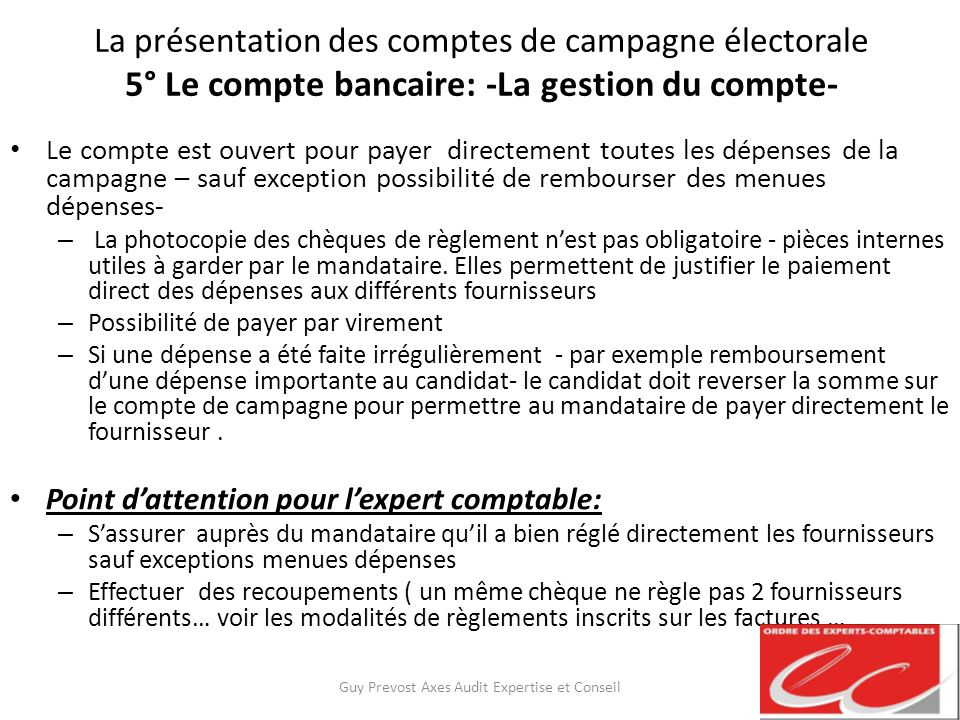 la pr sentation des comptes de campagne lectorale ppt t l charger. Black Bedroom Furniture Sets. Home Design Ideas