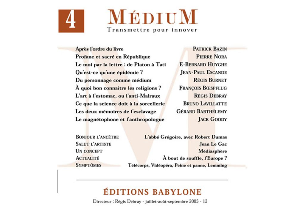 « Un nouveau paradigme » / Dominique Lahary, in: Bibliothèques numériques : où en sommes-nous.