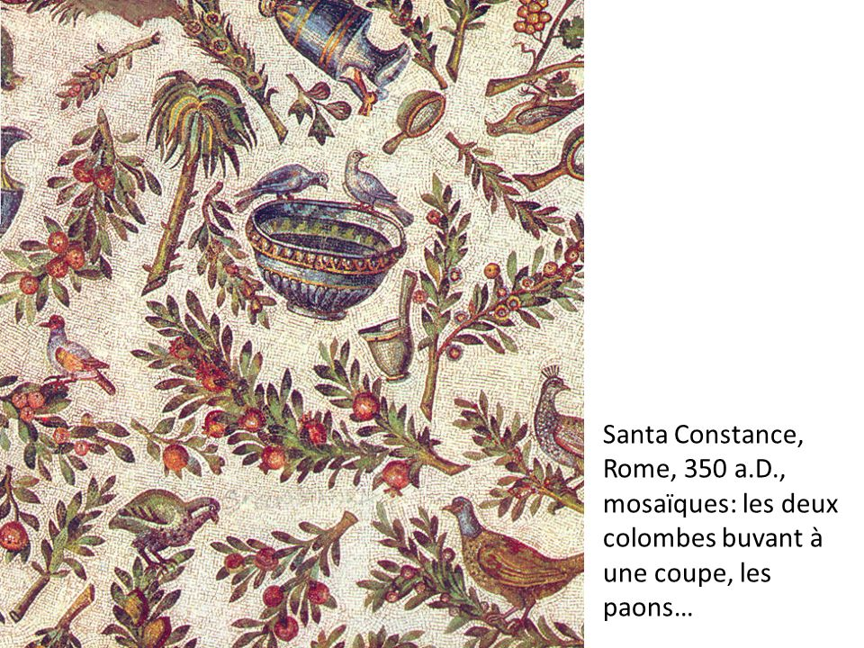 Santa Constance, Rome, 350 a. D