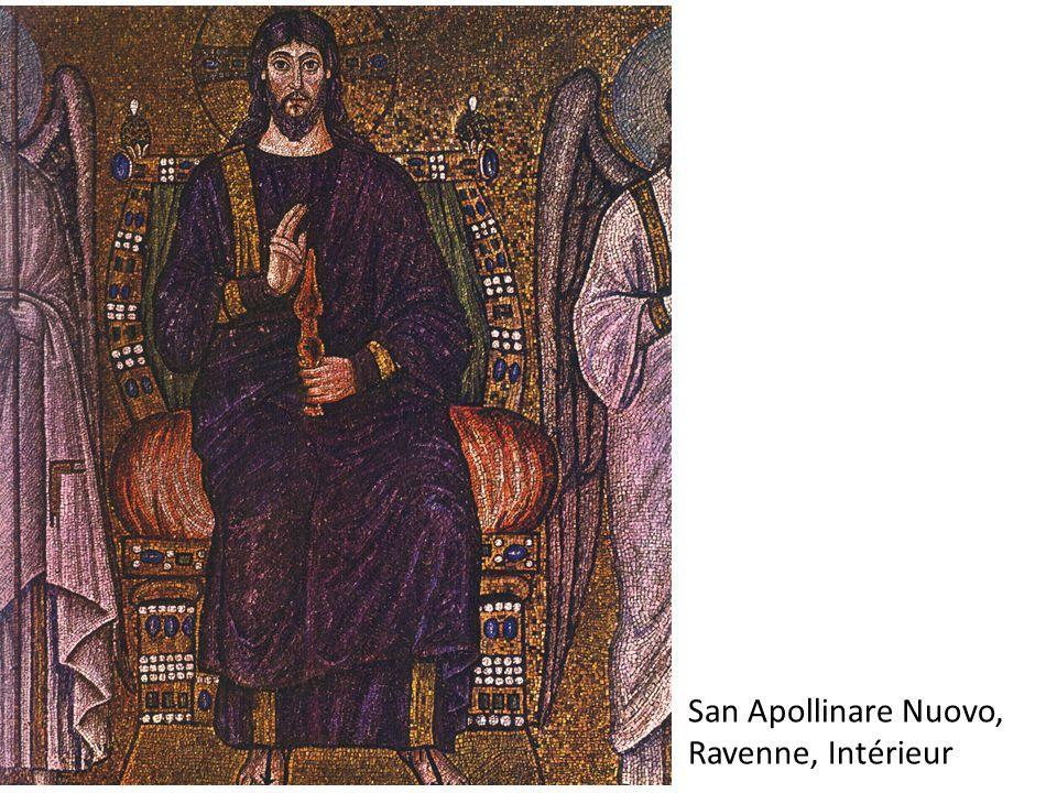 San Apollinare Nuovo, Ravenne, Intérieur