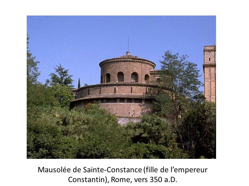 Mausolée de Sainte-Constance (fille de l'empereur Constantin), Rome, vers 350 a.D.