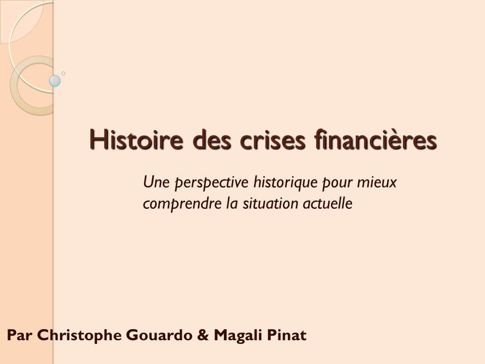 Histoire des crises financières