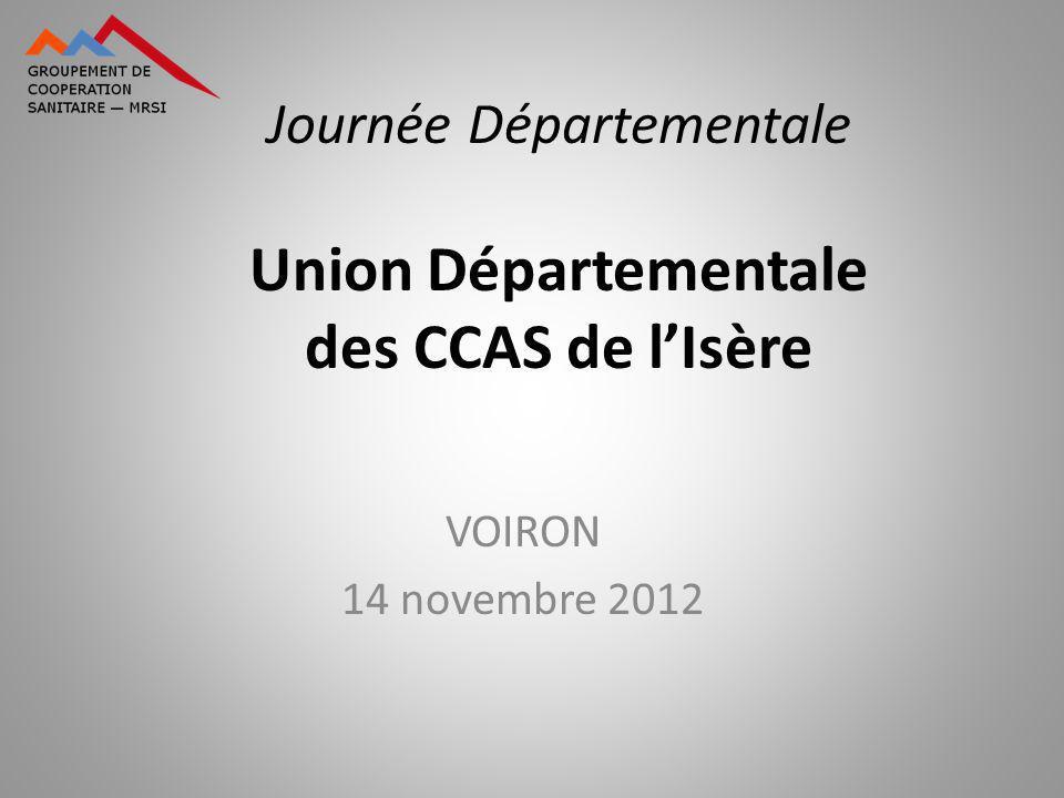 Journée Départementale Union Départementale des CCAS de l'Isère