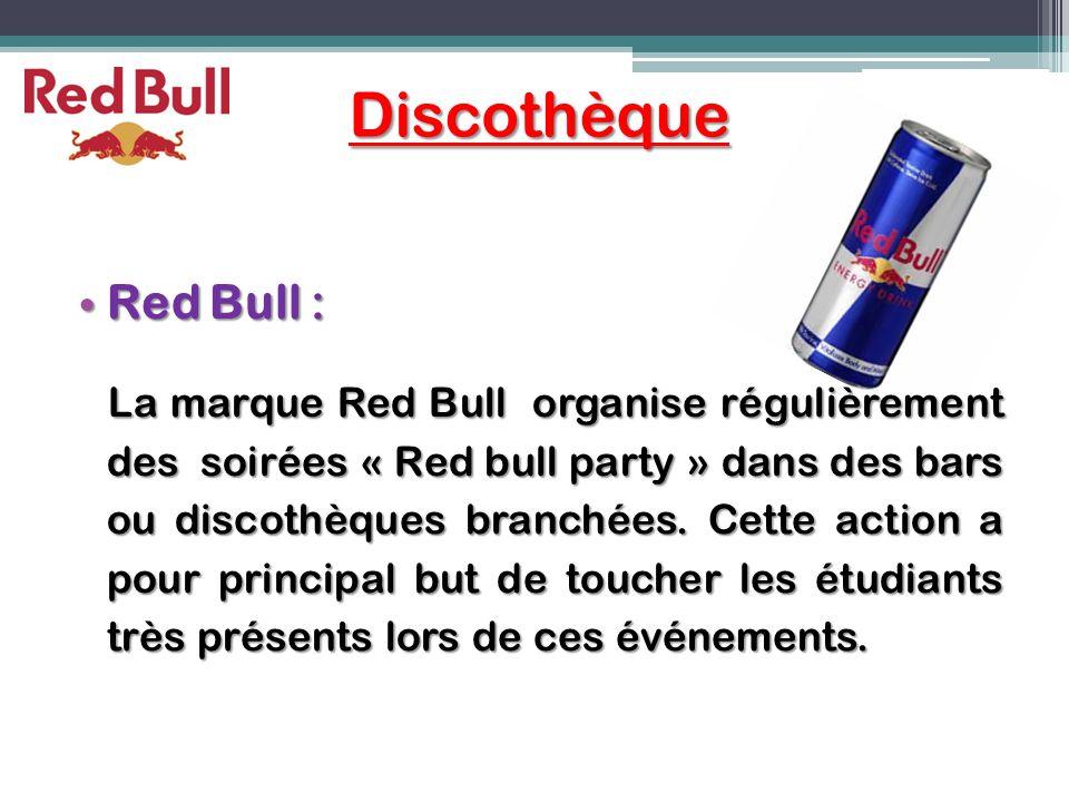 Discothèque Red Bull :