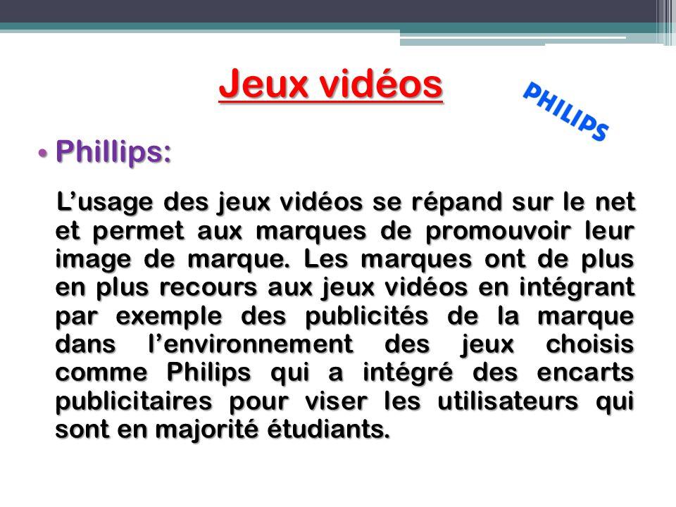 Jeux vidéos Phillips: