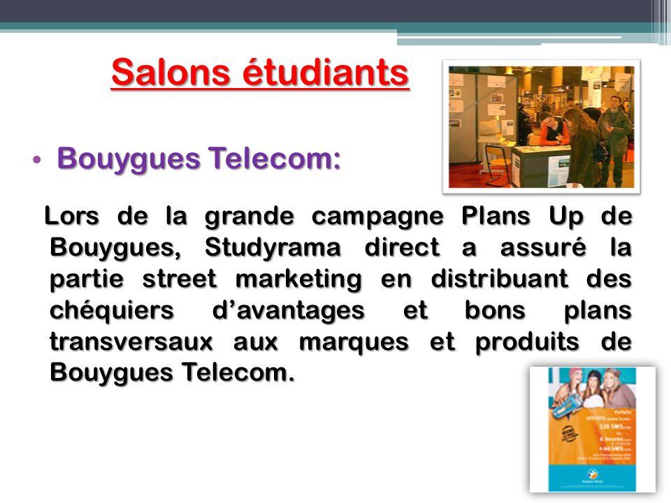 Salons étudiants Bouygues Telecom: