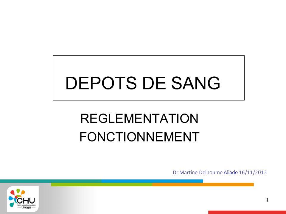 REGLEMENTATION FONCTIONNEMENT