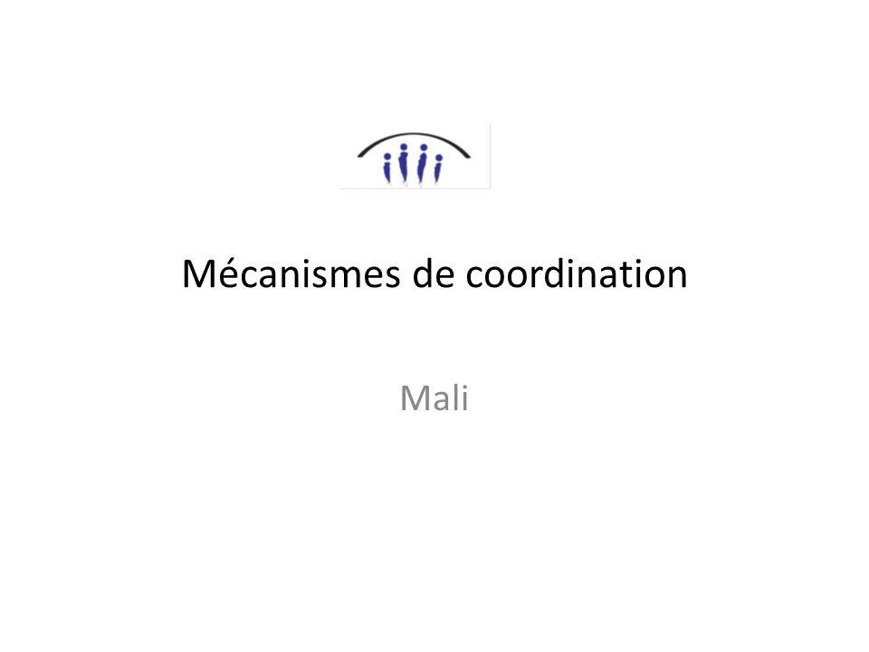 Mécanismes de coordination