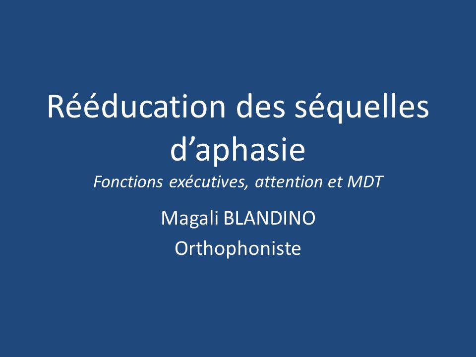 Magali BLANDINO Orthophoniste