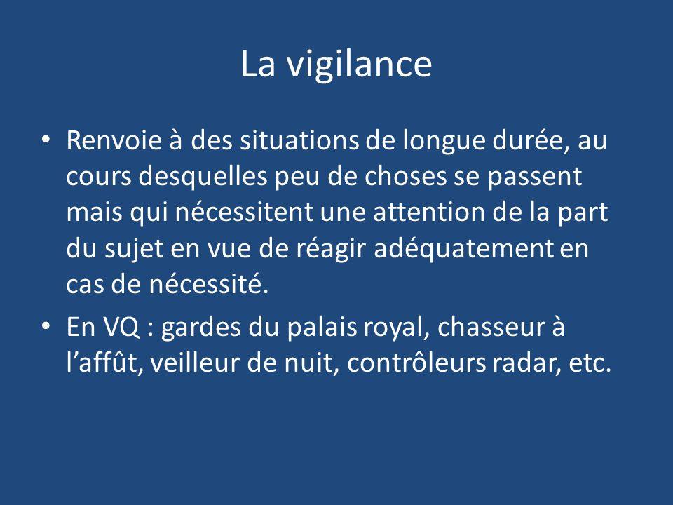 La vigilance